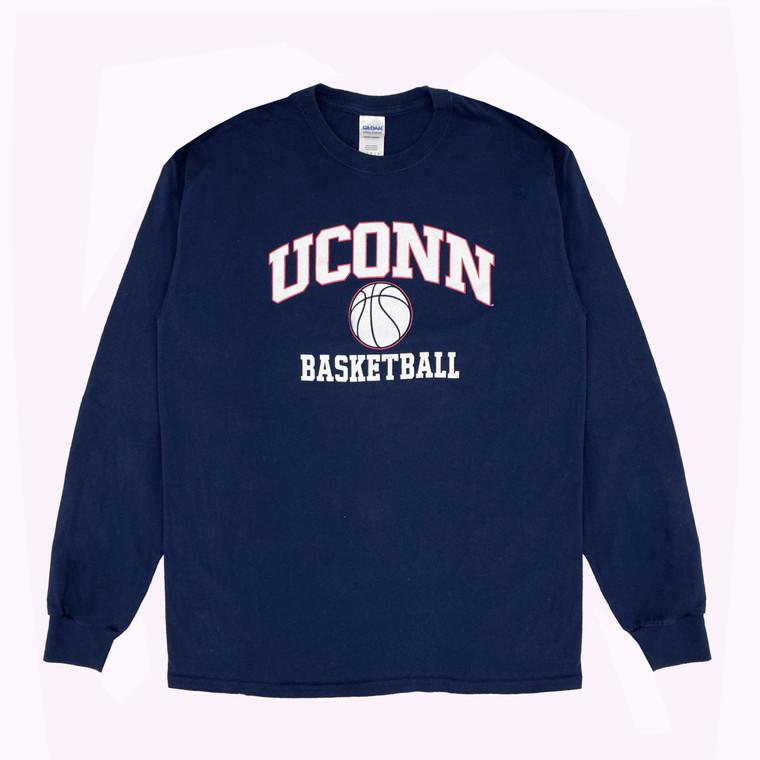 2000s UConn Basketball Long Sleeve