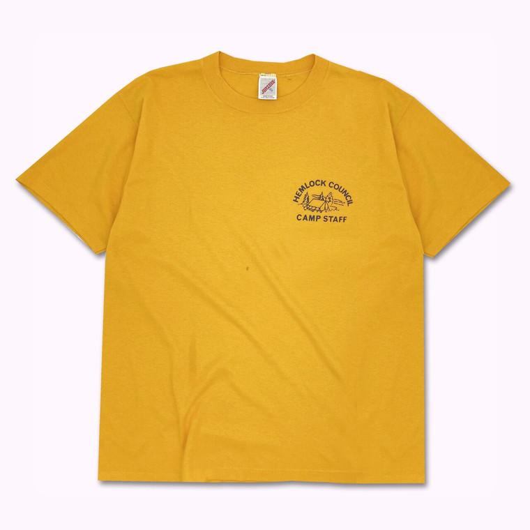 Vintage 90s Hemlock Camp Staff T-Shirt