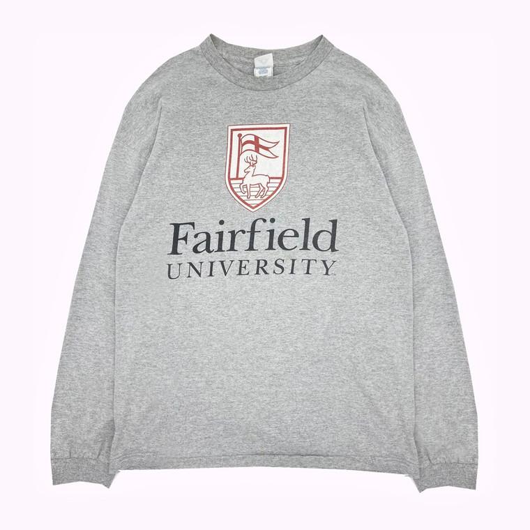 Vintage 90s Fairfield University Longsleeve Shirt
