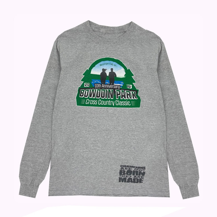 2016 10th Anniversary Bowdoin Park Cross Country Championship Long-Sleeve Shirt