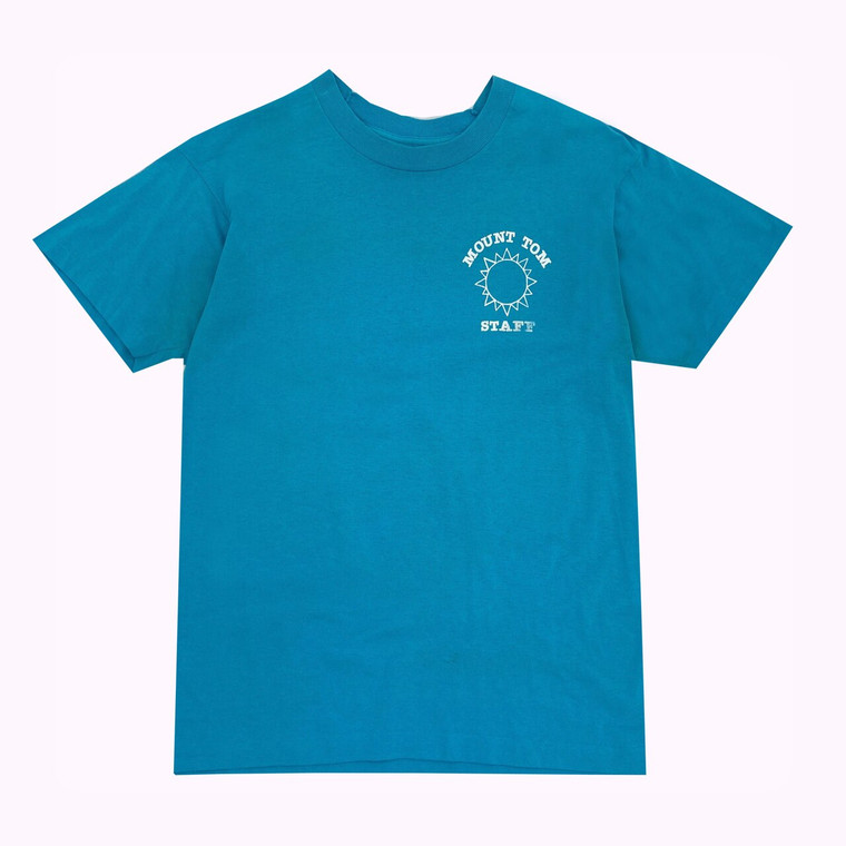 Vintage 80's Mt. Tom Day Camp New Rochelle, NY Staff T-shirt