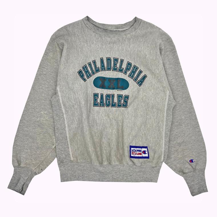 1996 Philadelphia Eagles Reverse-Weave NFL Pro Line Champion Crewneck