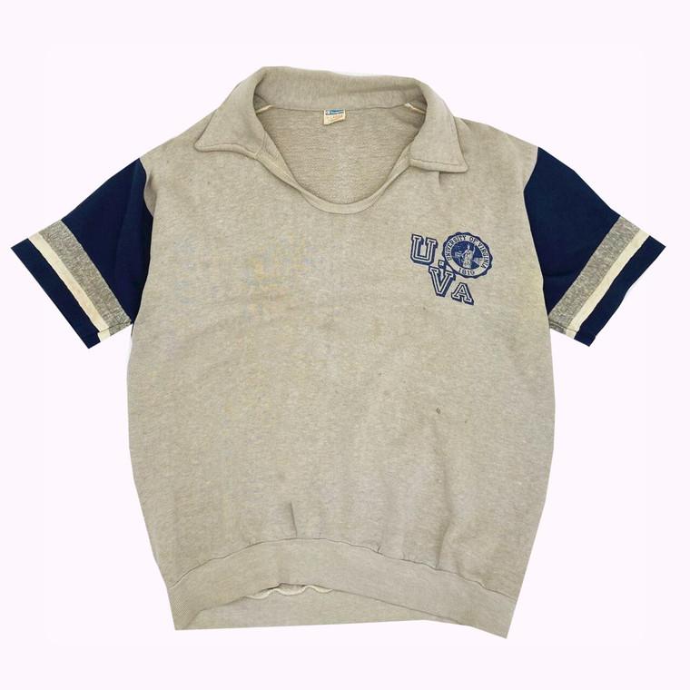 Vintage 70's University of Virginia Champion Short Sleeve Shirt