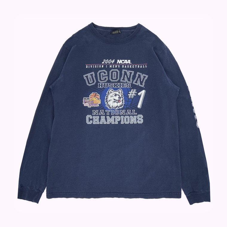 2004 UConn NCAA Men's Division Championship Long Sleeve