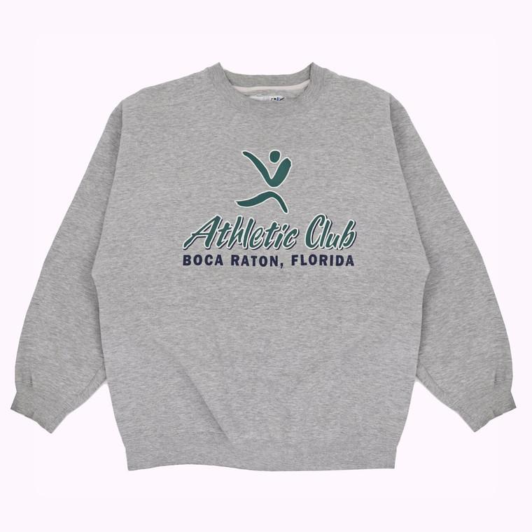 Vintage 90s Boca Raton Florida Athletic Club Crewneck