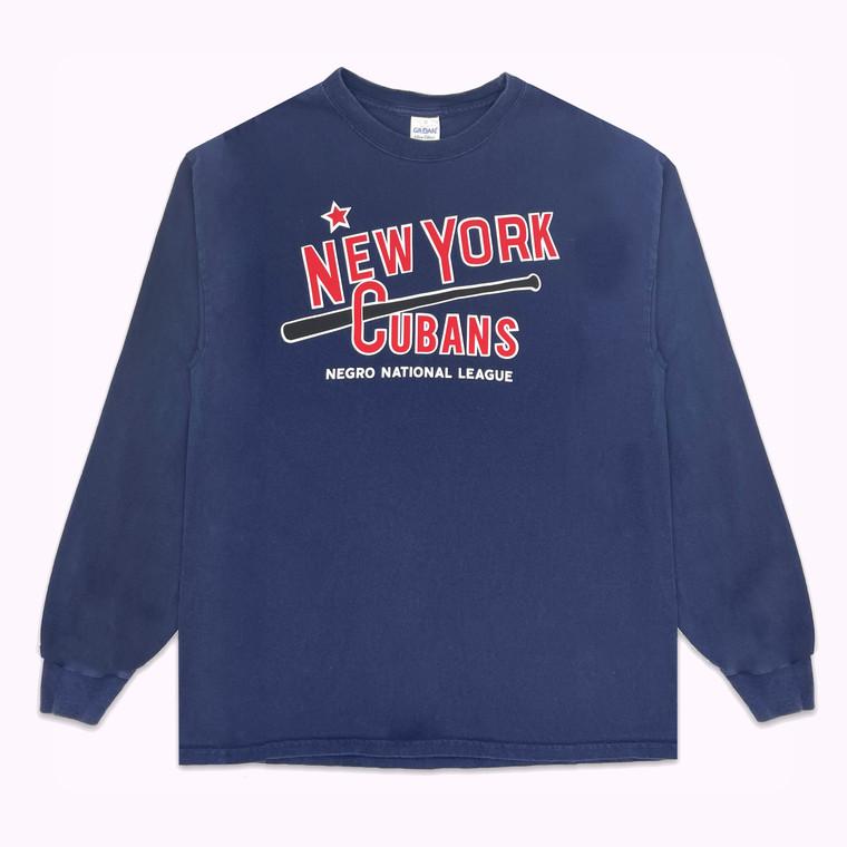 Vintage 90's New York Cubans Baseball Longsleeve Shirt