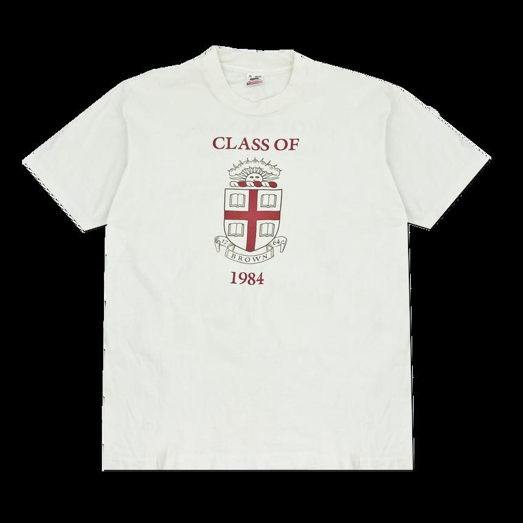 Vintage Brown University Class of 1984 T-shirt
