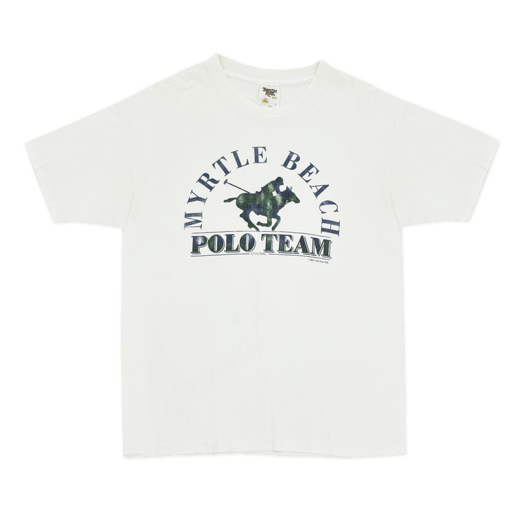 Vintage 1980's Myrtle Beach Polo Team T-Shirt