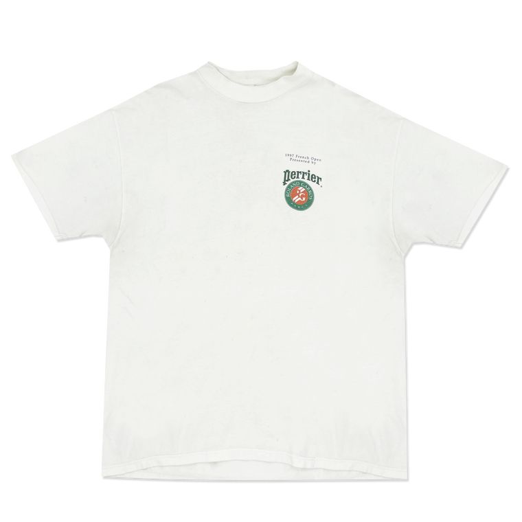 Vintage 90's Perrier French Open Sponsor T-Shirt