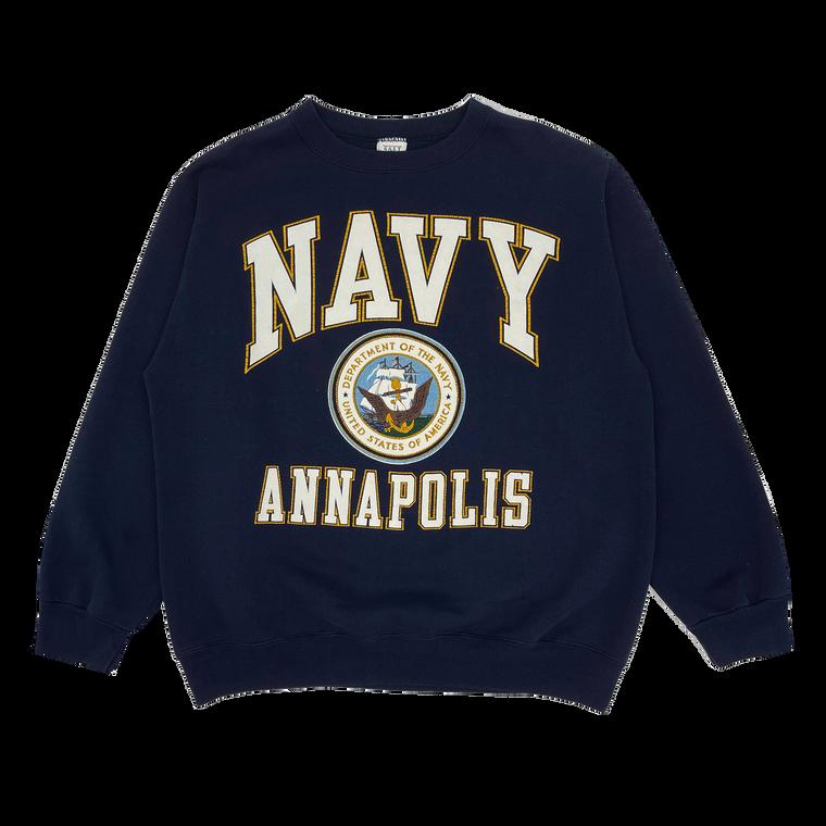 Vintage 90's US Navy Annapolis Crewneck Sweatshirt