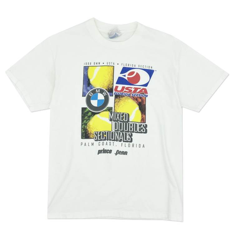 Vintage 90's BMW USTA Florida Section T-Shirt