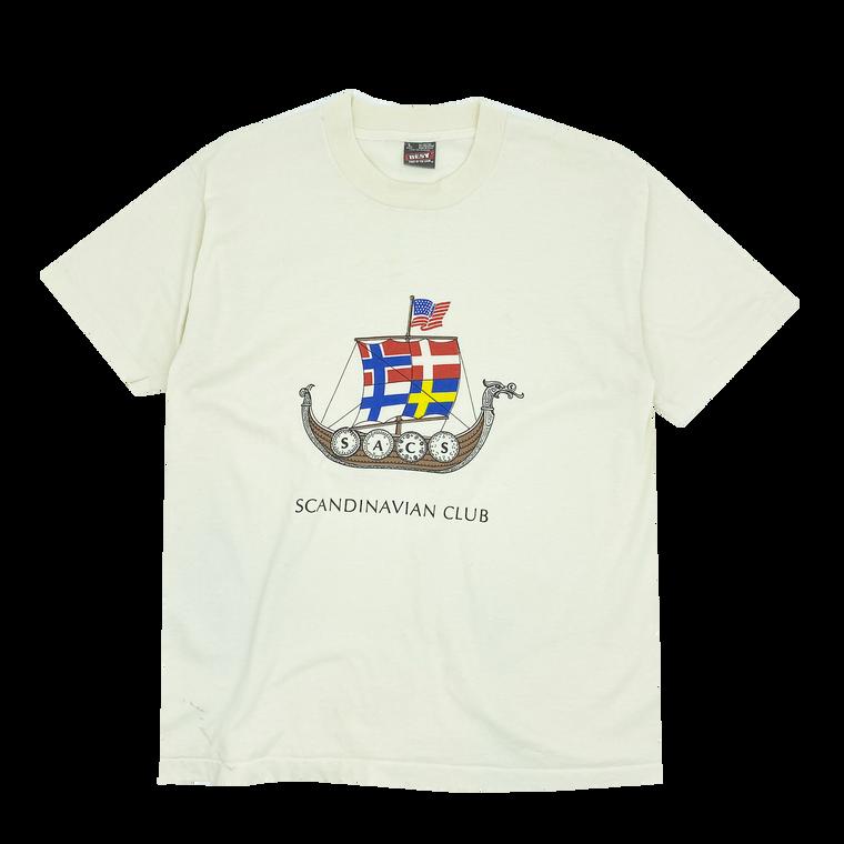 Vintage 80s-90s Scandinavian Club T-shirt