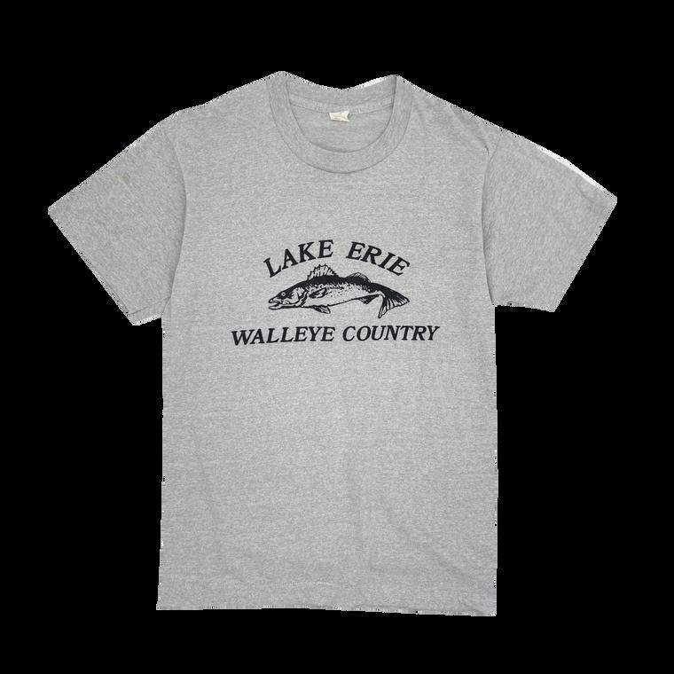 Vintage 90's Lake Erie Fishing T-Shirt