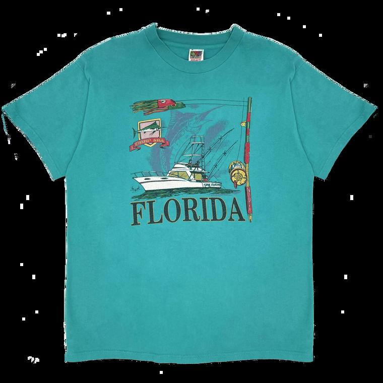 Vintage 90's Florida Deep Sea Fishing T-Shirt