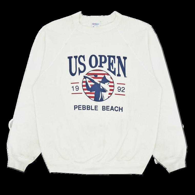 Vintage 1992 US Open Pebble Beach Golf Crewneck Sweatshirt