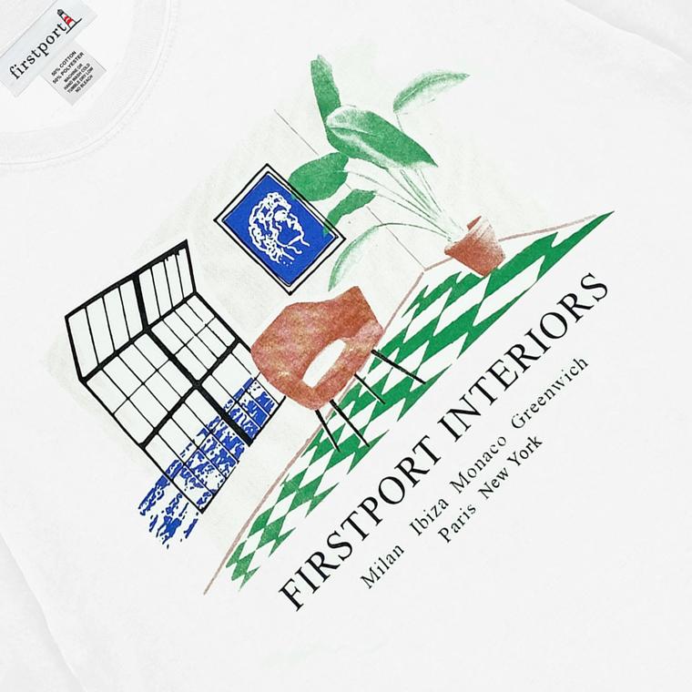 Firstport  Interiors T-shirt - White