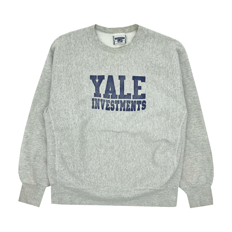 Vintage 90's Yale Investments Heavyweight Crewneck