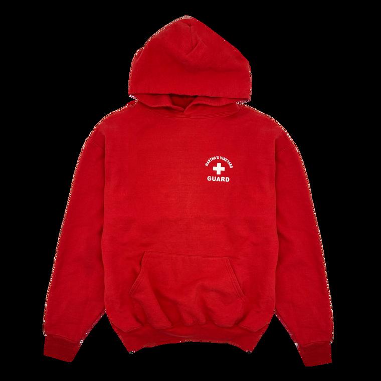 Vintage 90's Martha's Vineyard Lifeguard Hooded Sweatshirt