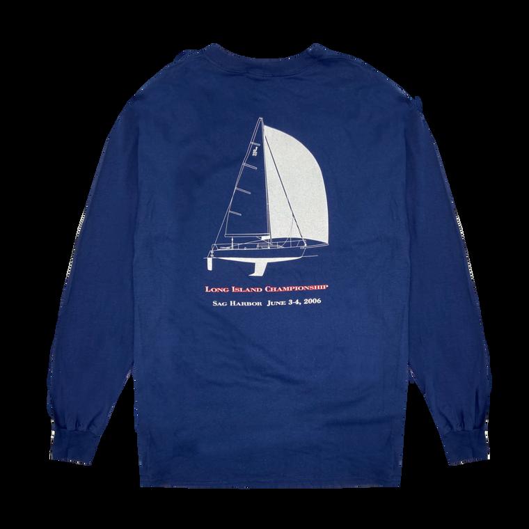 Vintage Long Island Breakwater Yacht Club Longsleeve Shirt