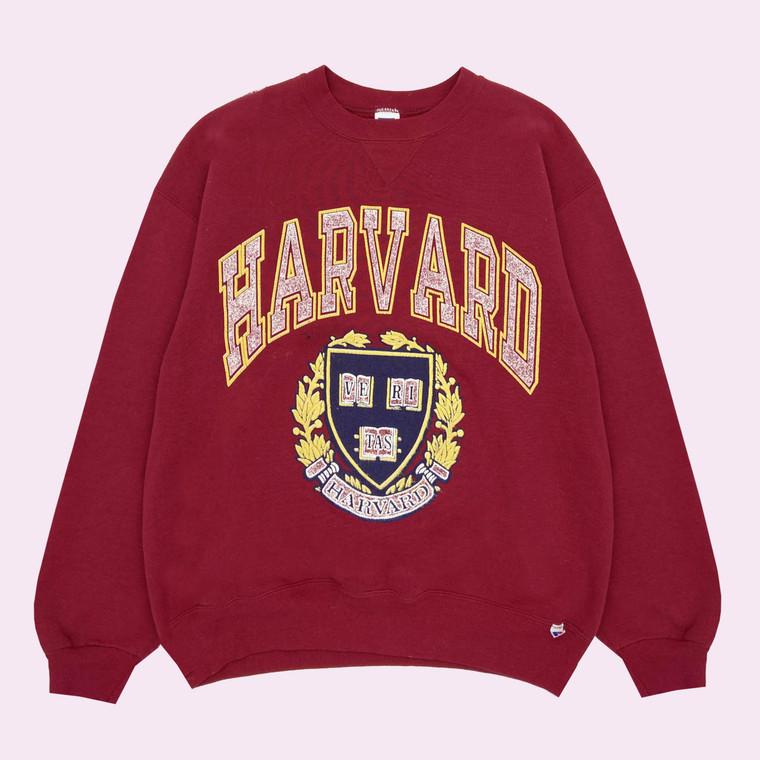 Vintage 90s Harvard Crewneck