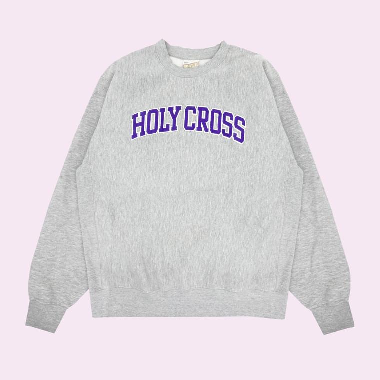 Vintage 90s Holy Cross Cross-Weave Crewneck Sweatshirt