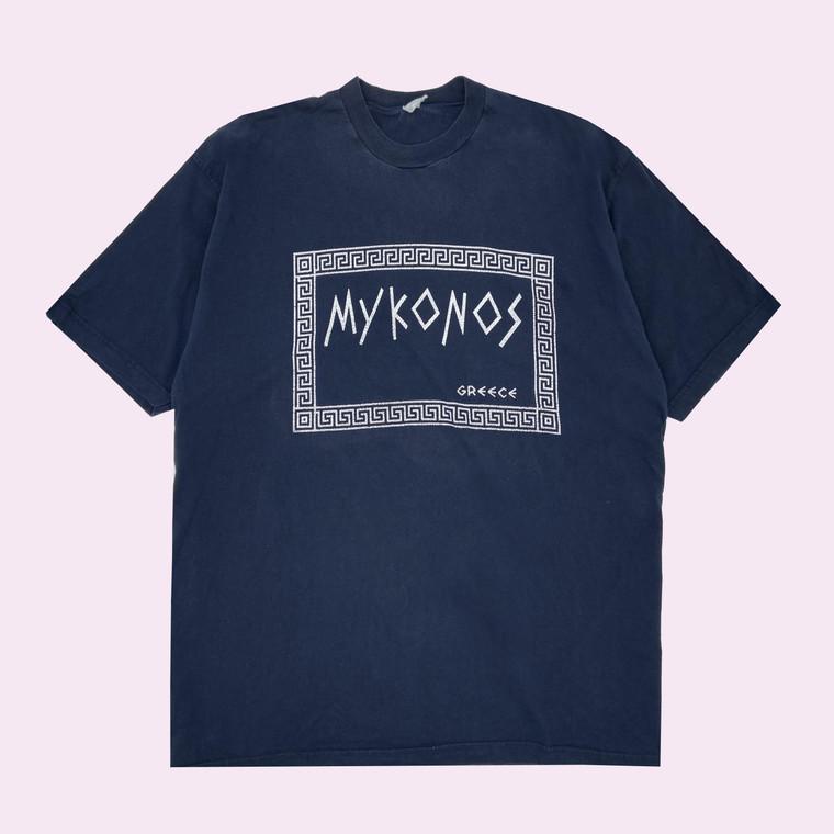 Vintage 90's Mykonos Greece T-Shirt