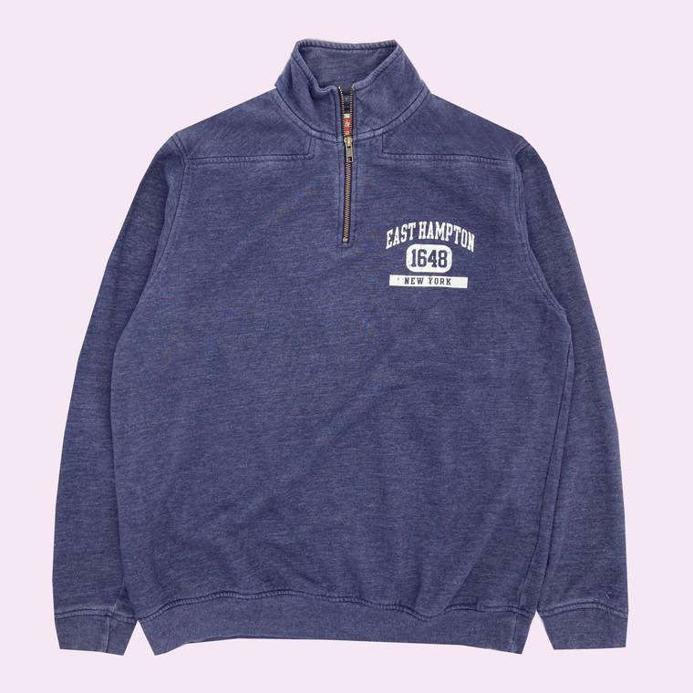 Vintage 90's East Hampton New York 1/4th Zip Sweatshirt
