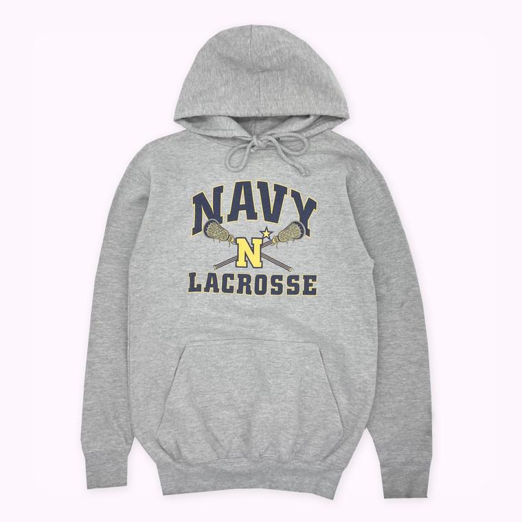 Vintage 90s Navy Lacrosse Hoodie