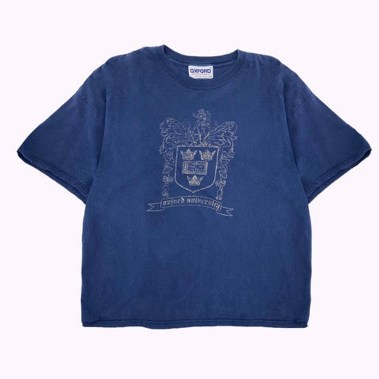 Vintage 90's Oxford University boxy T-Shirt