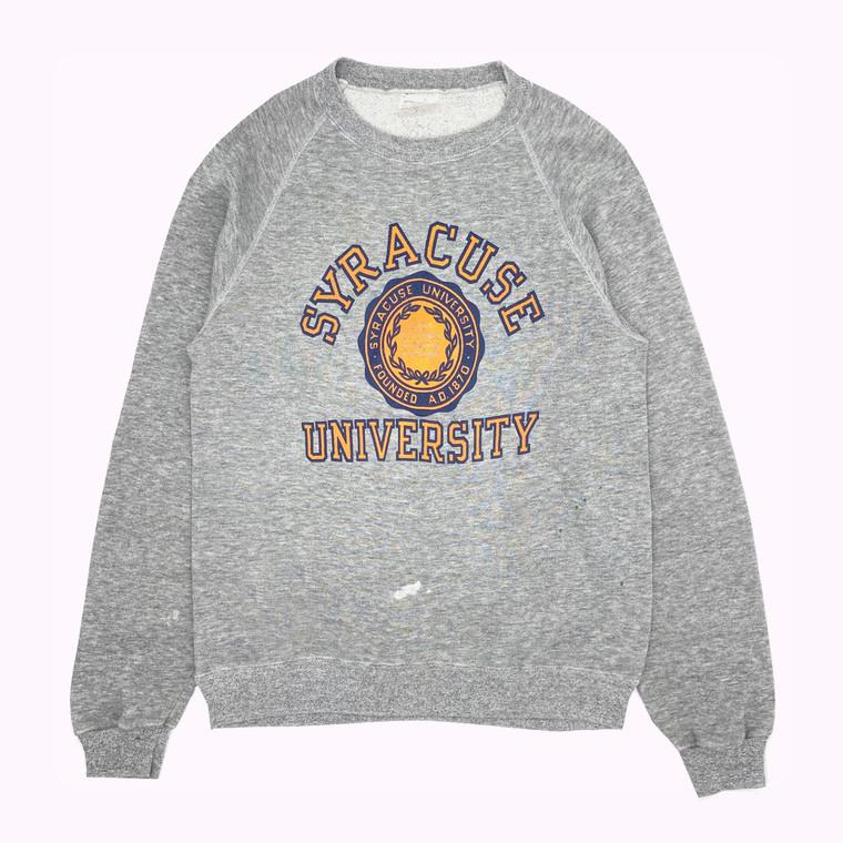 Vintage 80s Syracuse University Crewneck. Made in USA