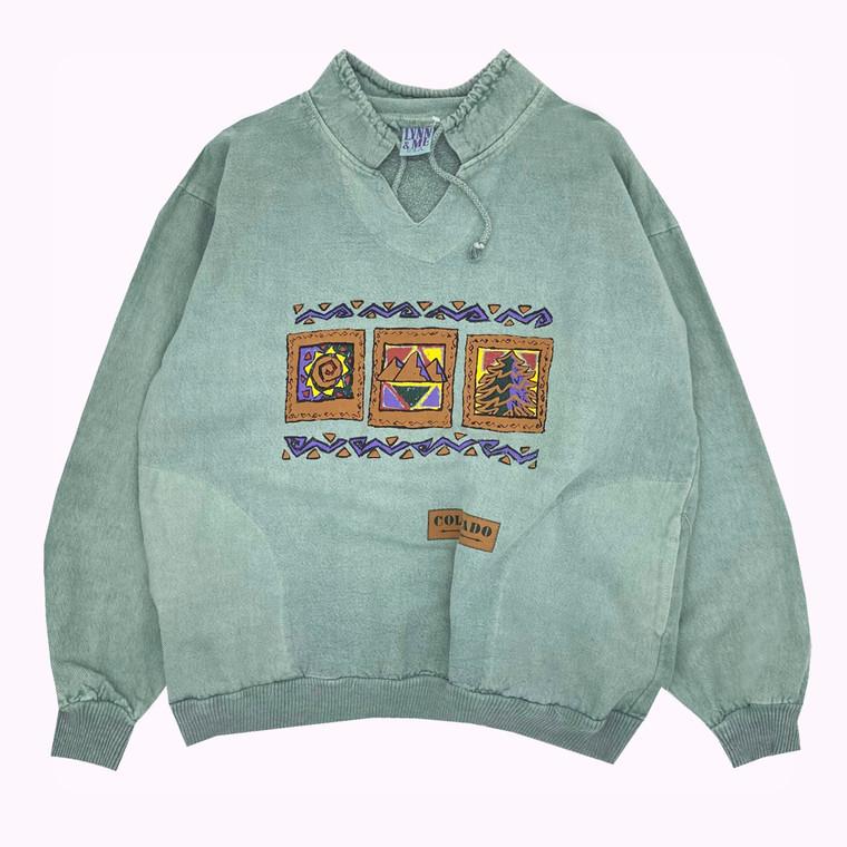Vintage 90s Colorado Pull-Over Sweatshirt