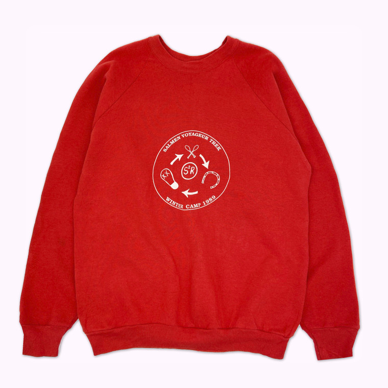 Vintage 1989 Salmen Voyageur Trek Crewneck Sweatshirt
