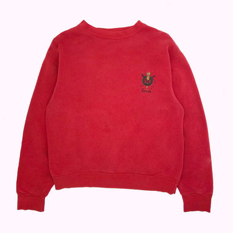 Vintage 90s Harrods Crewneck Sweatshirt