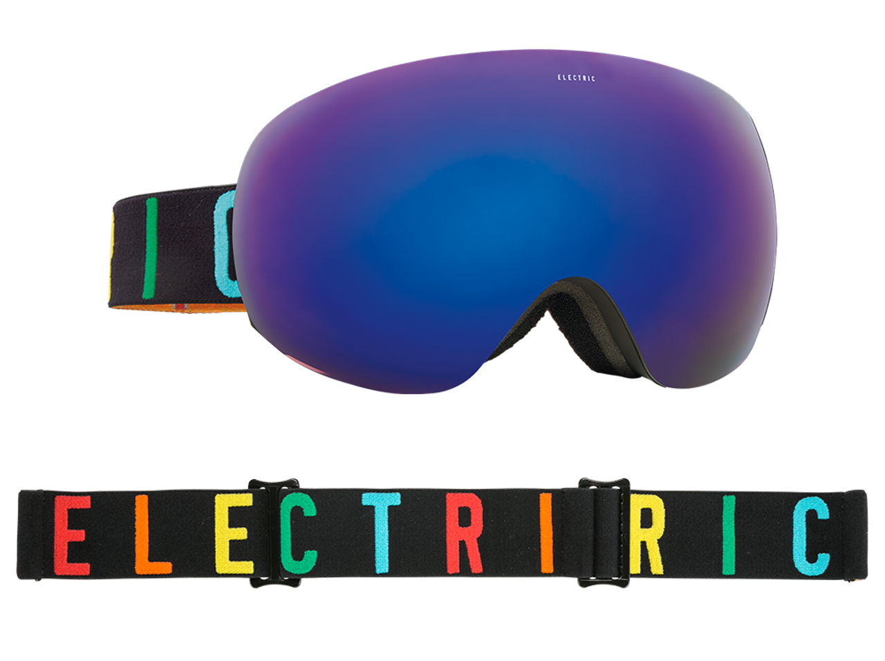 f9a4cf543f97 Electric EG3.5 Color Wordmark   Brose Blue Chrome Goggle 2018 - Gear West  Ski and Run