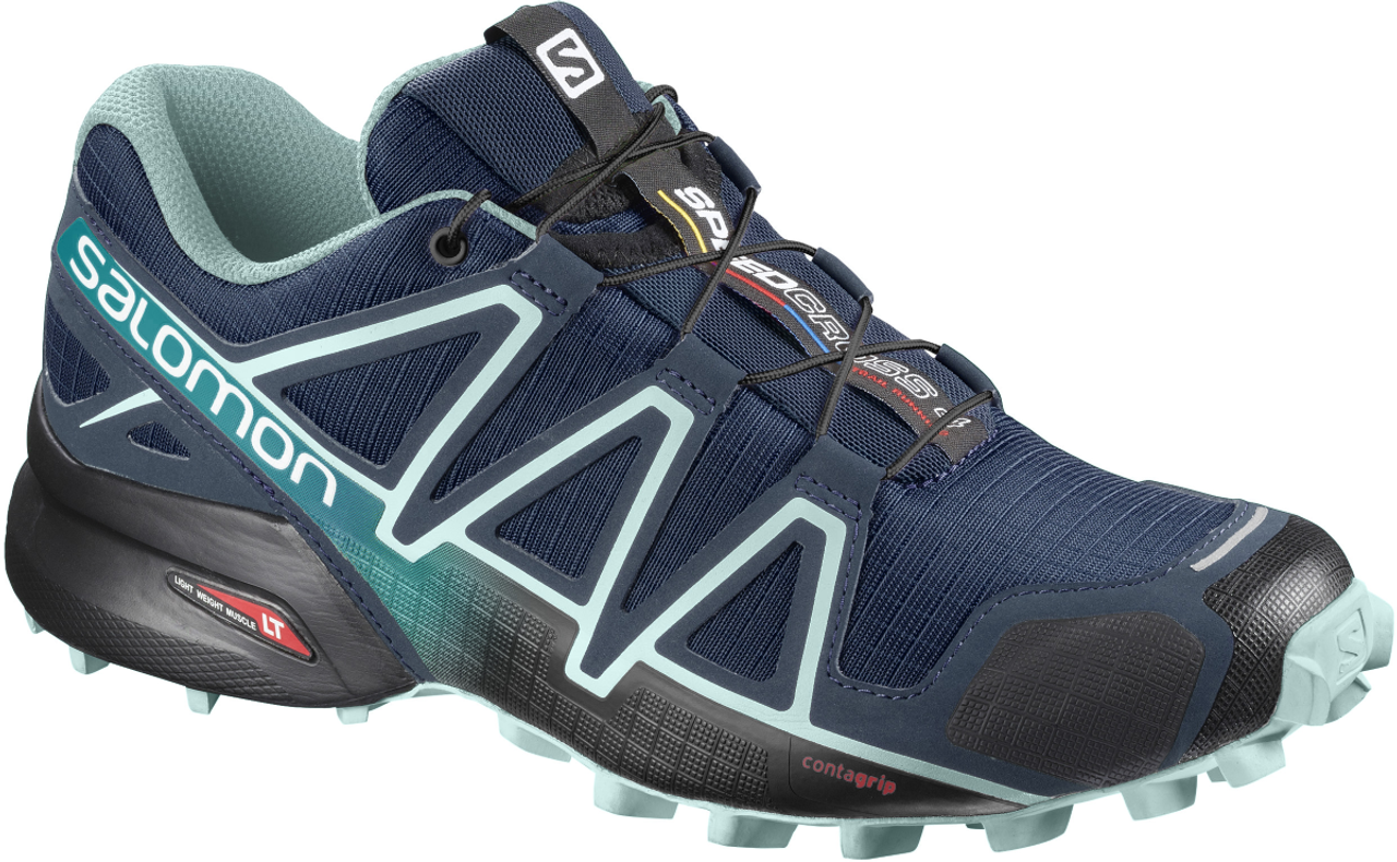 Welp Salomon Women's Speedcross 4 - Poseidon - Gear West Ski and Bike YG-77