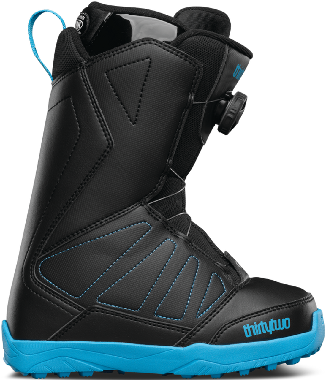 Thirty-Two Youth Lashed BOA Snowboard Boot 2017 - Gear West Ski and Run 466c70ea35c1