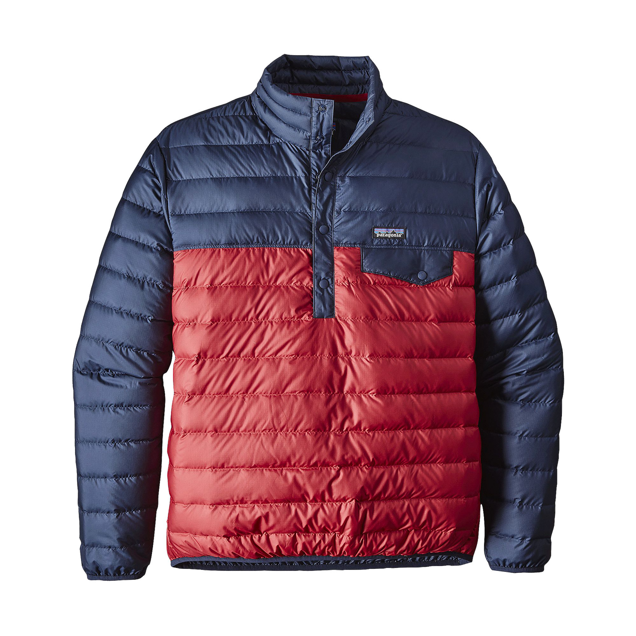 Patagonia Men s Down Snap-T Pullover Classic Red - Gear West Ski and Run 157fdcd038a4