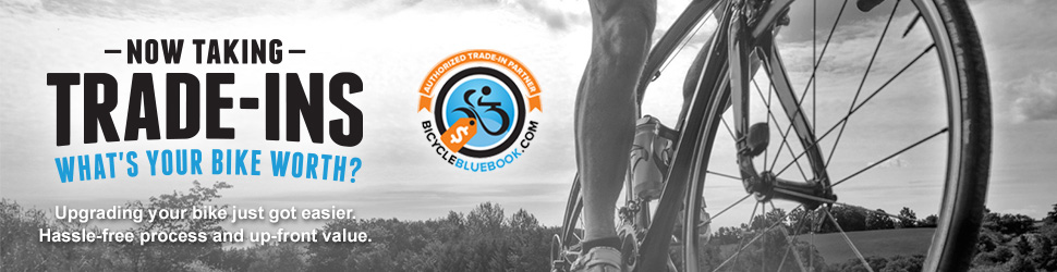 Trade in your bike at Gear West with Bicycle Blue Book
