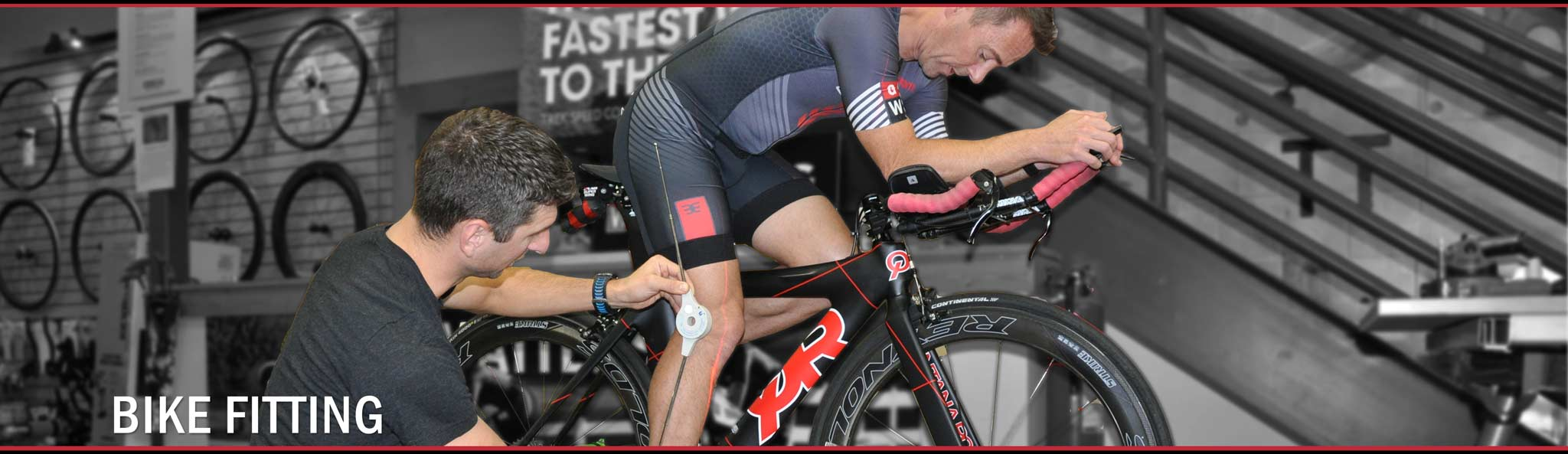 Bike Fitting at Gear West