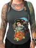 Geisha Tank- Ladies Heather Grey