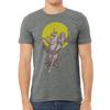 Steve Moore- Sasquatch Riding a Unicorn T-Shirt -Mens