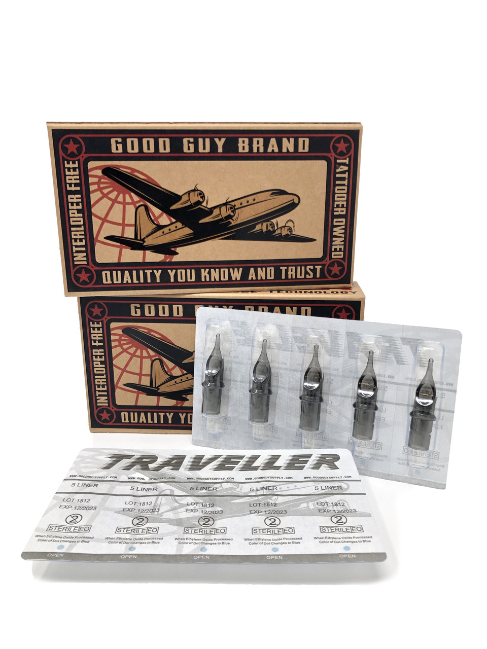 Traveler Tips Liners- 20/Box