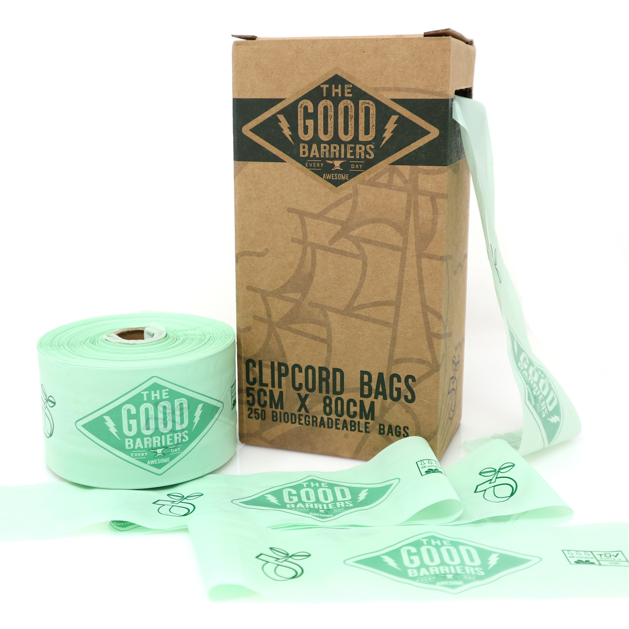Good Biodegradable Clip Cord Sleeves