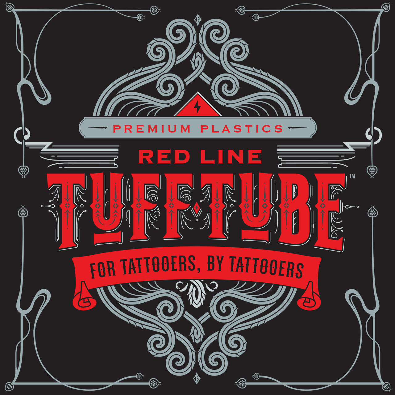 Red Line- Tuff Tube 30mm Disposable Tubes 15/box
