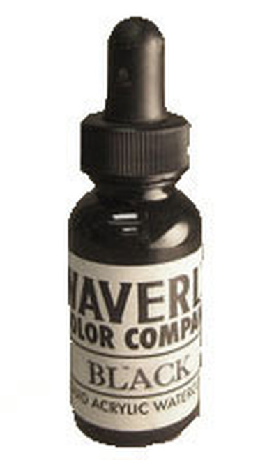 Waverly Liquid Acrylic Watercolor - Black