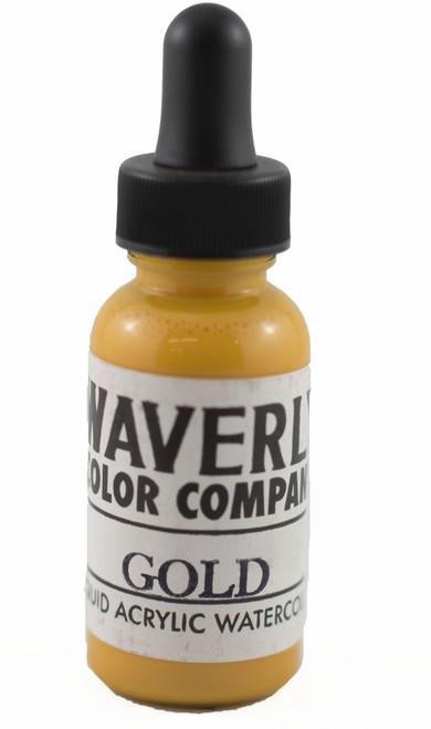 Waverly Liquid Acrylic Watercolor - Gold