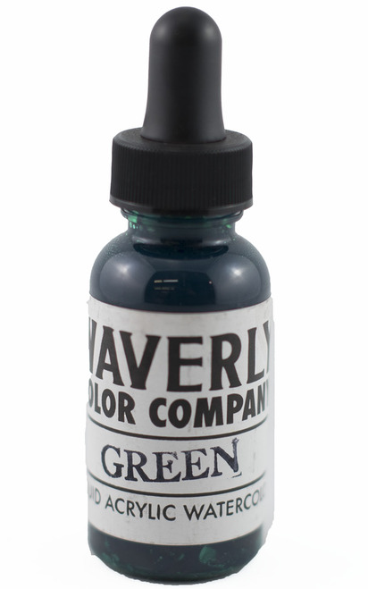 Waverly Liquid Acrylic Watercolor - Green