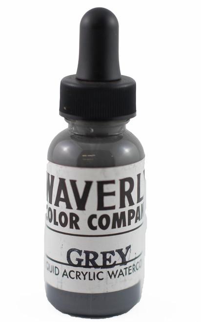 Waverly LIquid Acrylic Watercolor - Grey