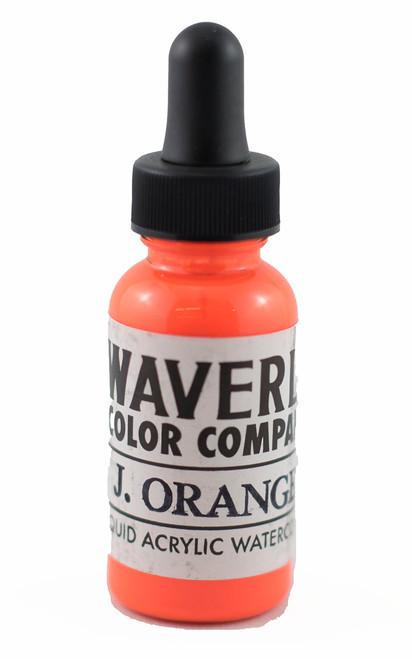 Waverly Liquid Acrylic Watercolor - Japanese Orange