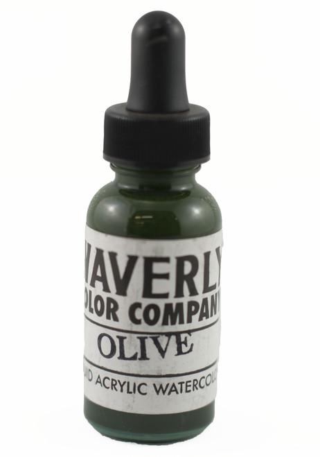 Waverly Liquid Acrylic Watercolor - Olive